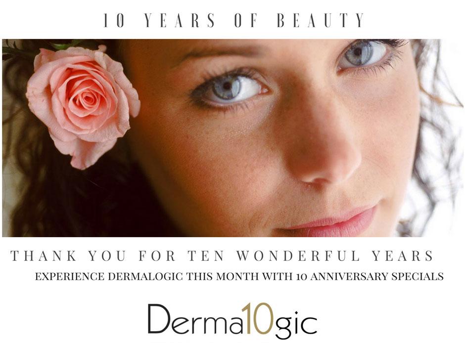 Dermalogic Laser Center celebrates its 10th anniversary!